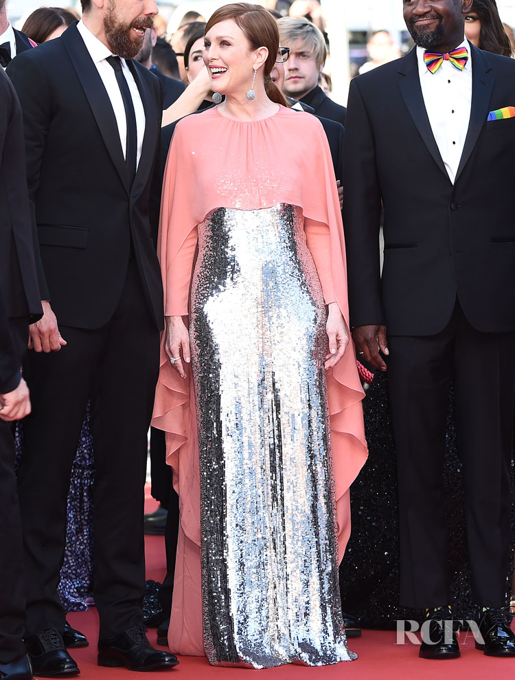 Julianne Moore In Givenchy Haute Couture – 'Rocketman' Cannes Film Festival Premiere