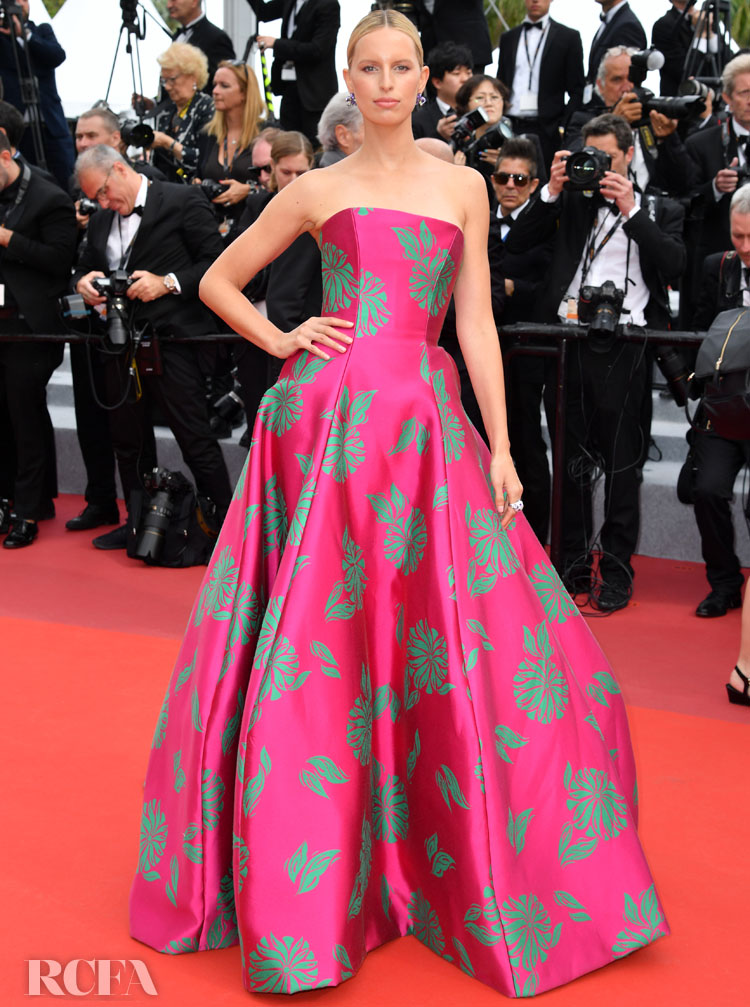 Karolina Kurkova In Etro - 'Once Upon a Time In Hollywood' Cannes Film Festival Premiere