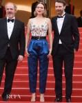 Léa Seydoux In Louis Vuitton   - 'Oh Mercy!' Cannes Film Festival Premiere