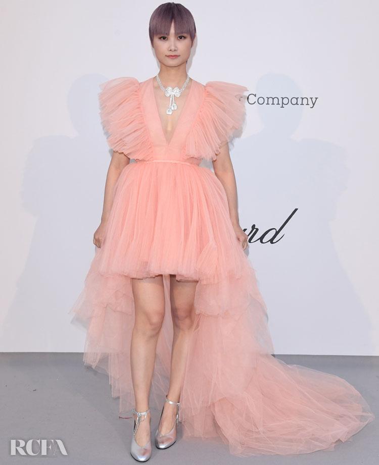 Li Yuchun In Giambattista Valli x H&M – amfAR Cannes Gala 2019