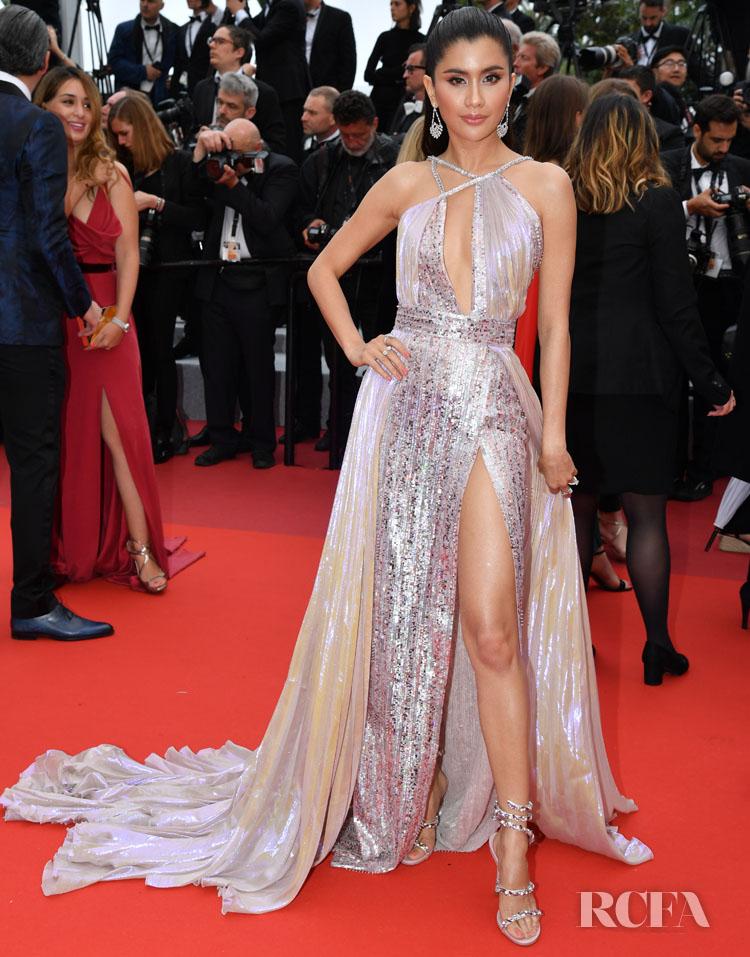 Praya Lundberg In Zuhair Murad Couture - 'A Hidden Life' Cannes Film Festival Premiere