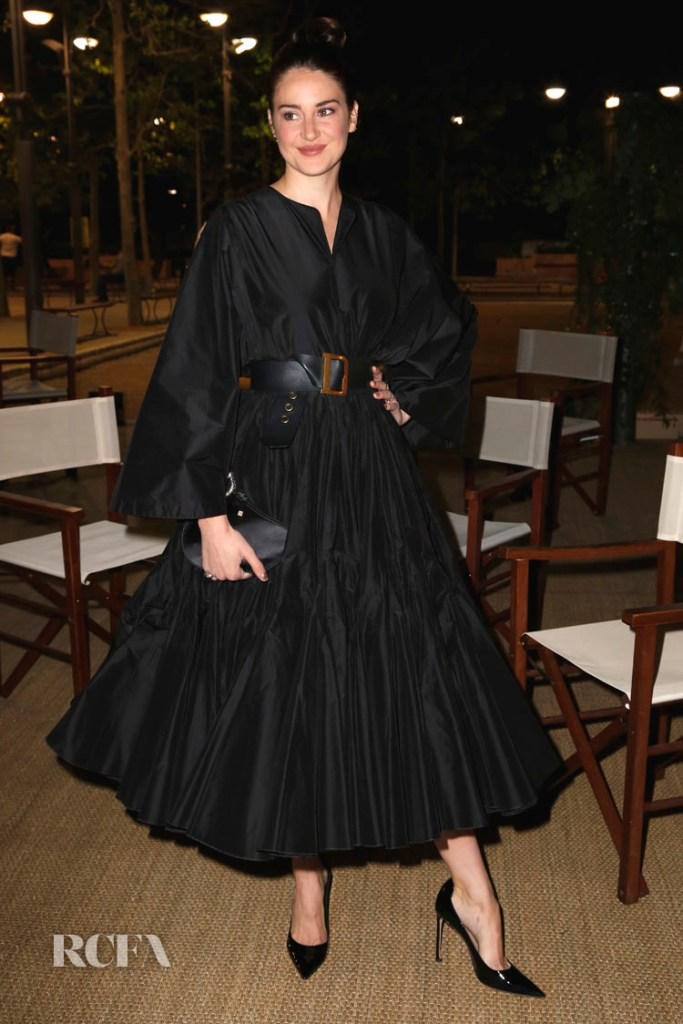 Shailene Woodley attends the Dior And Vogue Paris dinner