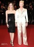 Tilda Swinton In Chanel - 'Parasite' Cannes Film Festival Premiere