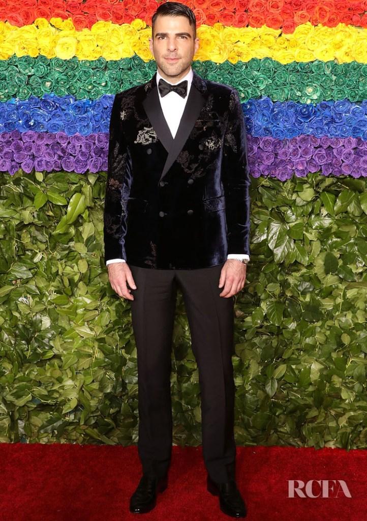 Zachary Quinto in Armani - 2019 Tony Awards