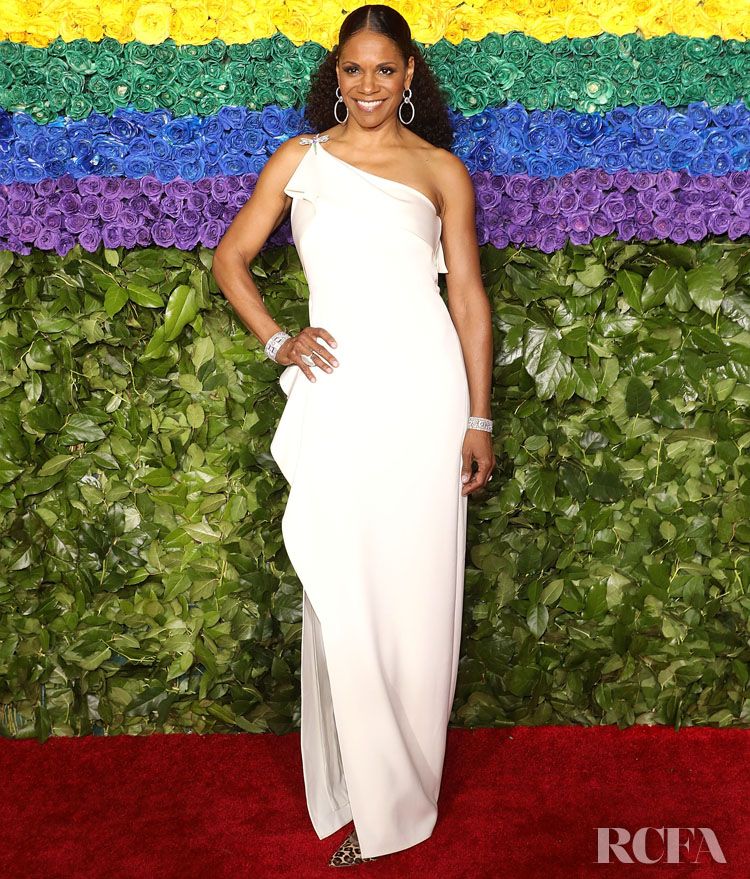 Audra McDonald in Halston - 2019 Tony Awards
