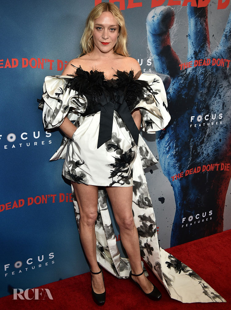 Chloe Sevigny in Marc Jacobs 'The Dead Don't Die' New York Premiere