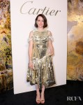 Claire Foy Goes For Gold At The Cartier Magnitude Dinner