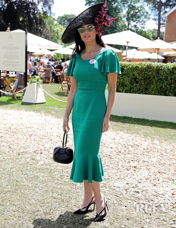 Demi Moore in Dolce & Gabbana Royal Ascot
