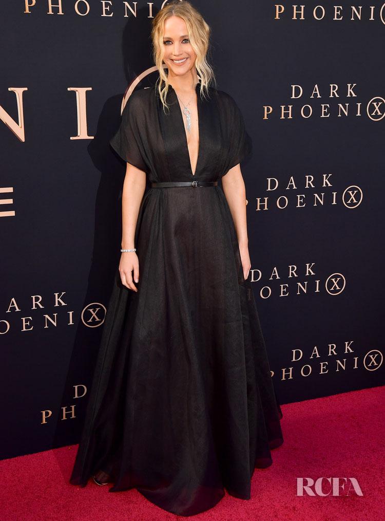 Jennifer Lawrence Dons Dior For The 'X-Men: Dark Phoenix' LA Premiere