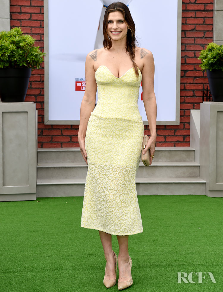 """Lake Bell attends the premiere of Universal Pictures' """"The Secret Life of Pets 2"""" at Regency Village Theatre on June 2, 2019 in Westwood, California. (Photo by Axelle/Bauer-Griffin/FilmMagic)"""