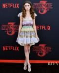 Natalia Dyer In Christian Dior Haute Couture - 'Stranger Things 3' LA Premiere