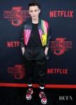 Noah Schnapp In Fendi - 'Stranger Things 3' LA Premiere