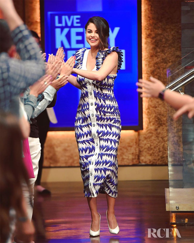 Selena Gomez Springs Into Life On Live With Kelly & Ryan