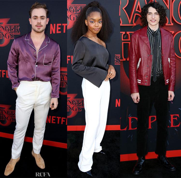 'Stranger Things 3' LA Premiere