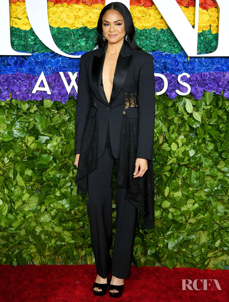 Karen Olivo in Alexander McQueen - 2019 Tony Awards
