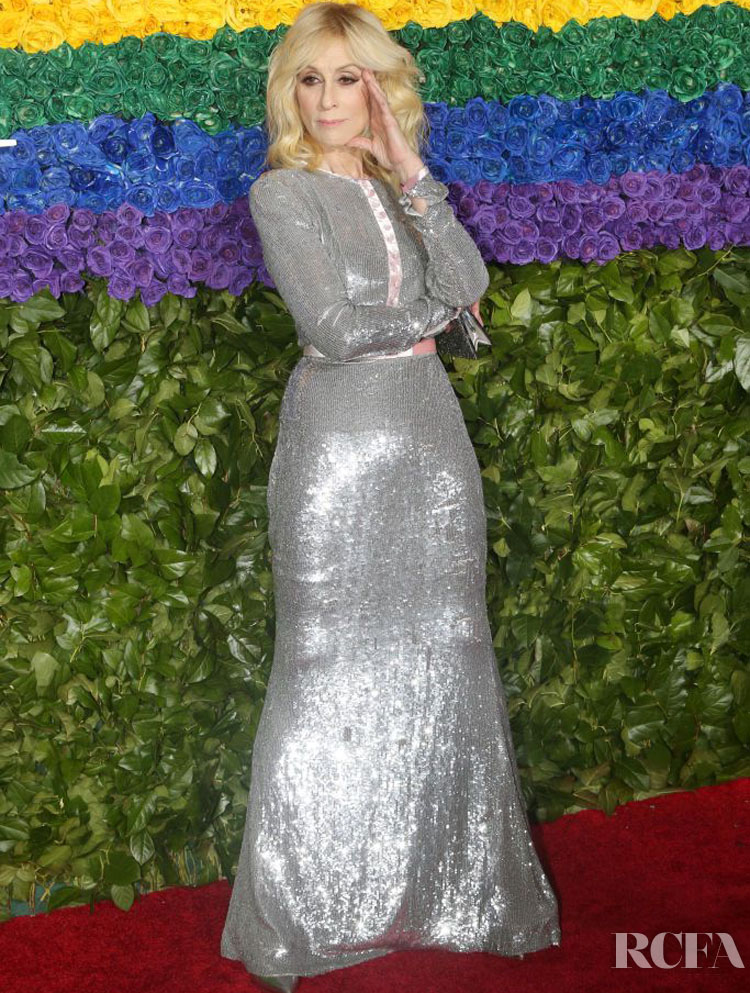 Judith Light in Badgley Mischka  - 2019 Tony Awards