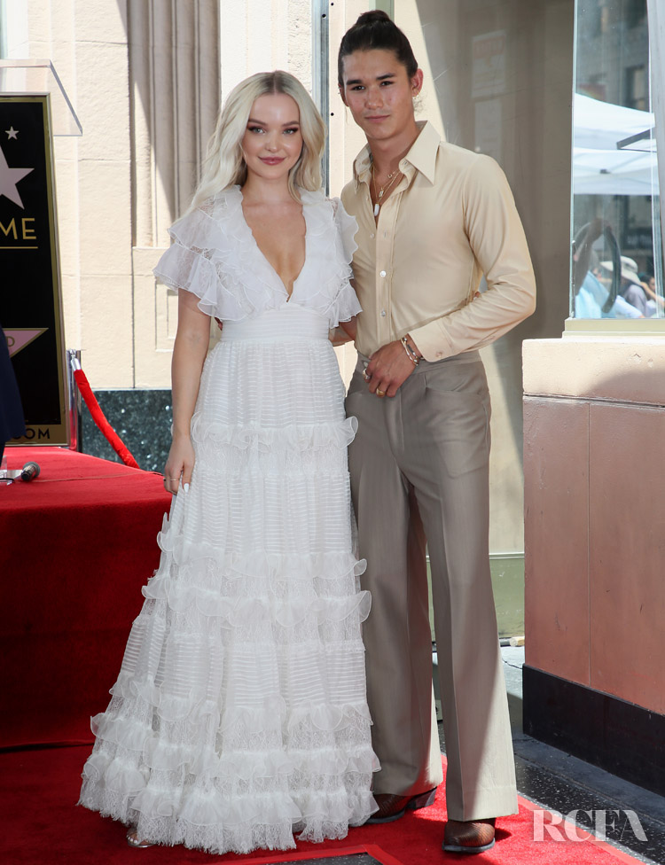 Dove Cameron Steals The Limelight At Kenny Ortega's Star On The Hollywood Walk Of Fame Ceremony