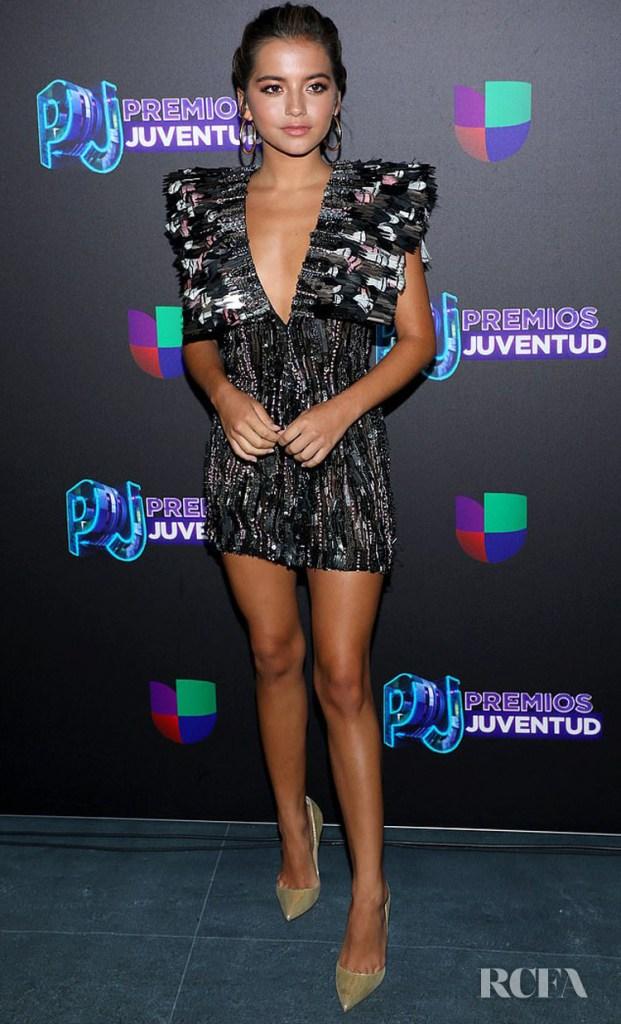 Isabela Moner in Cong Tri - Premios Juventud