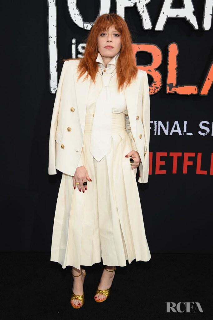 Natasha Lyonne wearing Gucci  - 'Orange Is The New Black' Final Season World Premiere
