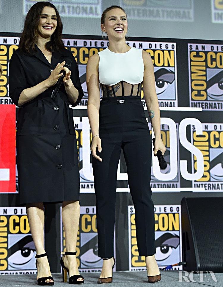 Scarlett Johansson In David Koma Comic-Con