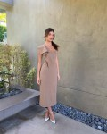 Camila Morrone Wears ADEAM For The 'Mickey And The Bear' Press Conference