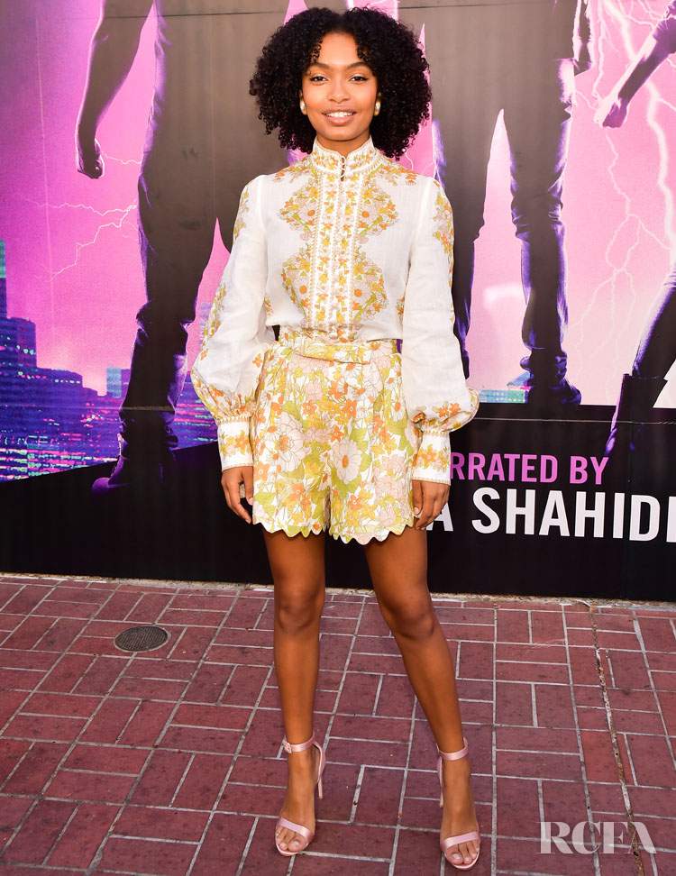 """Yara Shahidi In Zimmermann - Audible Original Stan Lee's """"Alliances: A Trick of Light"""" Experience At San Diego Comic-Con"""