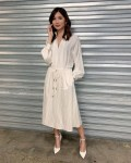 Gemma Chan Channels Nonchalant-Chic In Tory Burch For 'I Am Hannah'