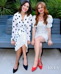 Mandy Moore and Isla Fisher Embrace The Polka Dot Trend At Rothy's Conscious Cocktails