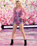 Taylor Swift Sparkles For 'Good Morning America' & 'Lover's Lounge' YouTube Live Stream Promoting Her New Album
