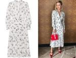 Brie Larson's Alessandra Rich Midi Dress