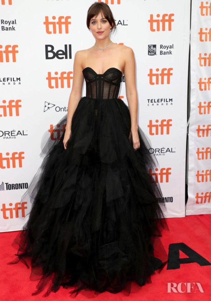 Dakota Johnson In Christian Dior Haute Couture - 'The Friend' Toronto Film Festival Premiere