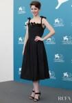 Mariana Di Girolamo In Marco de Vincenzo & Alberta Ferretti Limited Edition - 'Ema' Venice Film Festival Photocall & Premiere