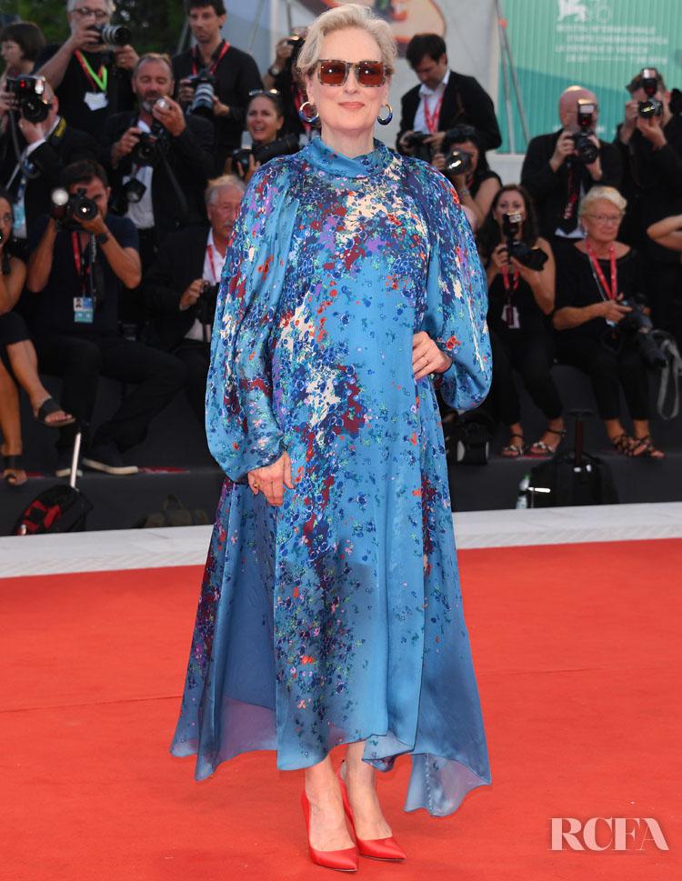 Meryl Streep In Givenchy -  'The Laundromat' Venice Film Festival Premiere