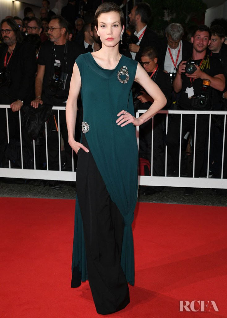 Sylvia Hoeks In JW Anderson - 'Waiting For The Barbarians'  Venice Film Festival Premiere