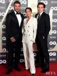 The Beckhams In Tom Ford & Victoria Beckham - GQ Men Of The Year Awards 2019