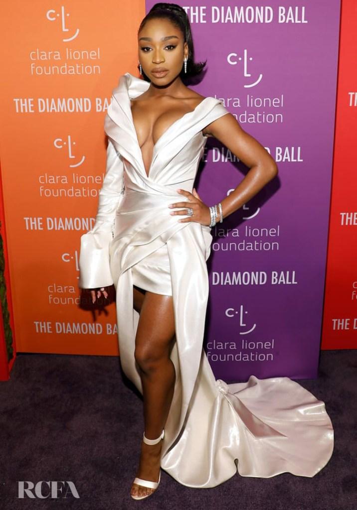 Normani In J'Aton Couture - 2019 Diamond Ball