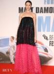 Caitriona Balfe Wore Armani Prive To The 'Le Mans '66' London Film Festival Premiere