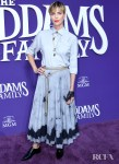 Charlize Theron Debuts The Christian Dior Spring 2020 Collection, And A New Hair Cut For 'The Addams Family' LA Premiere