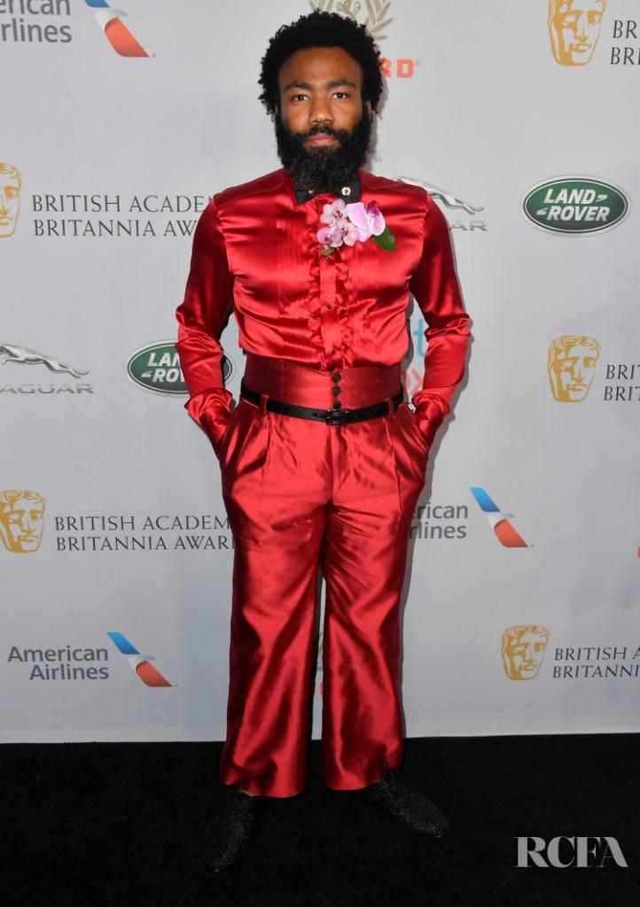 Donald Glover In Dolce & Gabbana - 2019 British Academy Britannia Awards