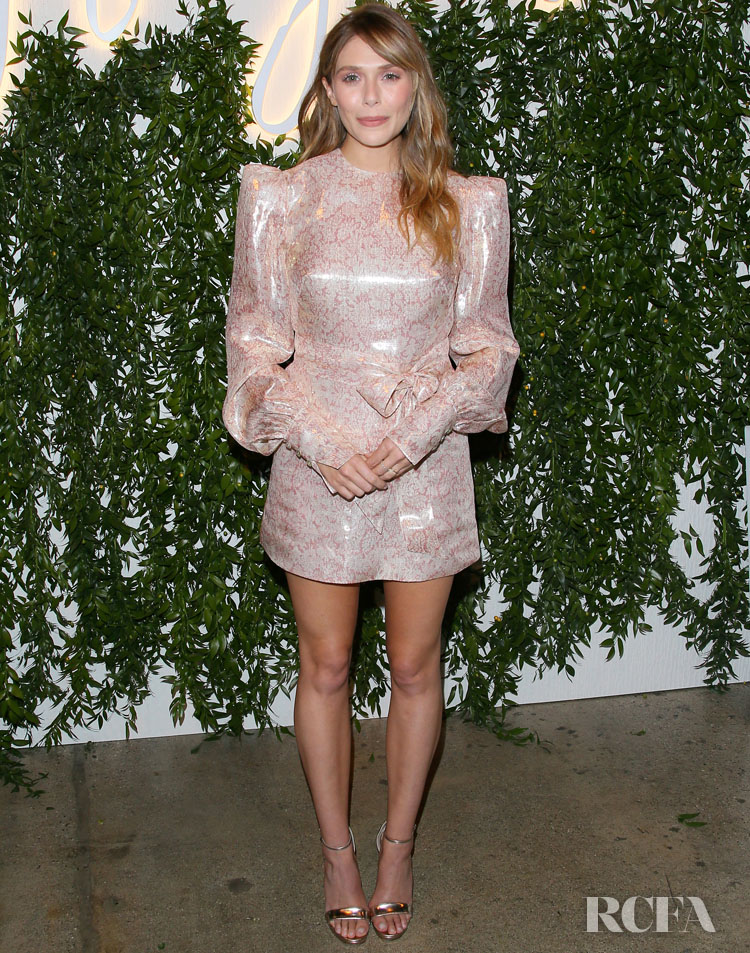 Elizabeth Olsen Wears The Vampire's Wife To The 'Sorry For Your Loss' Season 2 LA Premiere