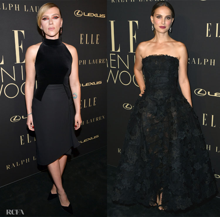 2019 Elle Women In Hollywood: The All Black Edition