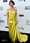 Gugu Mbatha-Raw Goes Canary Yellow For The 'Motherless Brooklyn' New York Film Festival Premiere