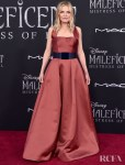 Michelle Pfeiffer Wears Armani For The 'Maleficent: Mistress Of Evil' World Premiere