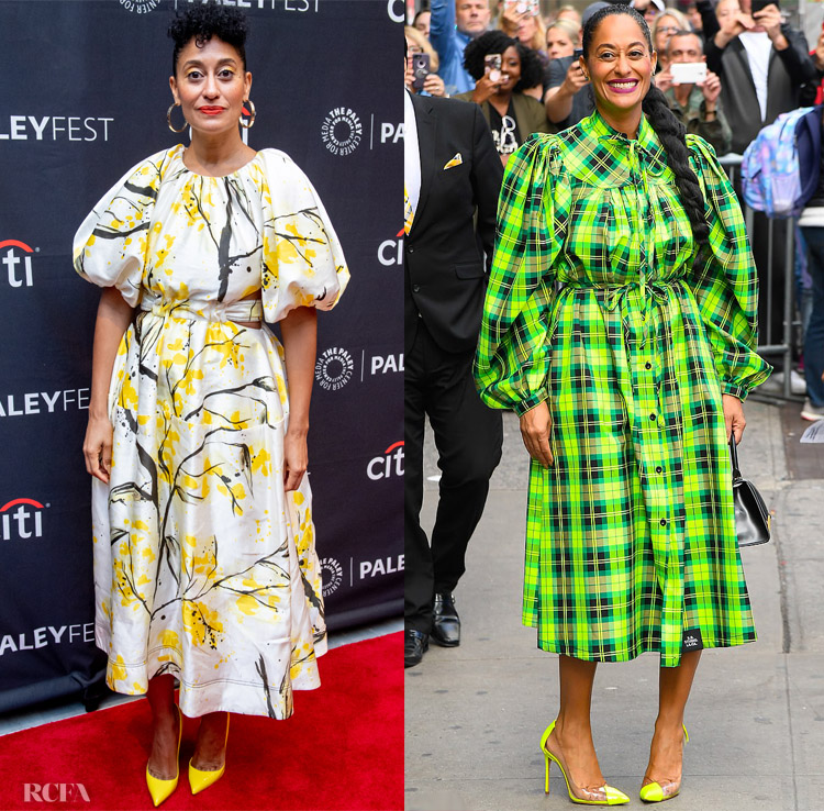 Tracee Ellis Ross' Colourful 24 Hours Promoting 'Black-ish' On Good Morning America & PaleyFest New York