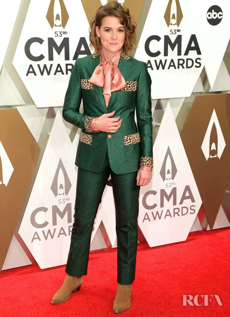 Brandi Carlile in Sanne - 2019 CMA Awards