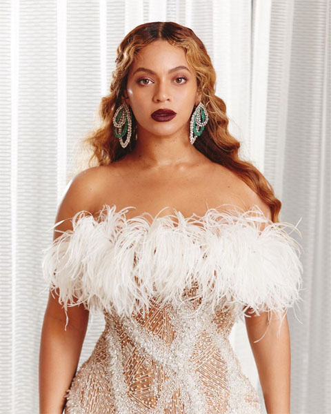 Beyonce In Roberto Cavalli Couture Shawn Carter Foundation Gala