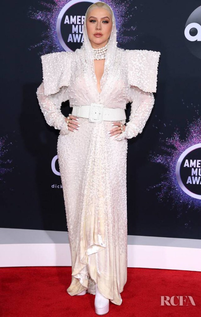 Christina Aguilera In Jean Paul Gaultier Haute Couture - 2019 American Music Awards