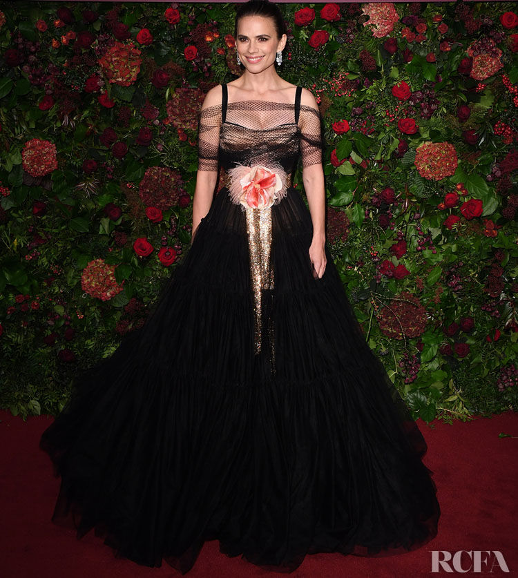 Hayley Atwell In Dolce & Gabbana - 2019 Evening Standard Theatre Awards