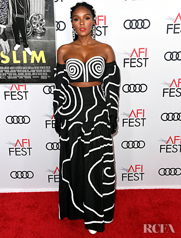 Janelle Monae Mara Hoffman  'Queen & Slim' LA Premiere