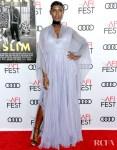 Jodie Turner-Smith & Joshua Jackson Are Gorgeous In Gucci For The 'Queen & Slim' LA Premiere